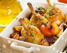 Cuisses de poulet et légumes rôtis au four pour novice en cuisine : http://www.fourchette-et-bikini.fr/recettes/recettes-minceur/cuisses-de-poulet-et-legumes-rotis-au-four-pour-novice-en-cuisine.html