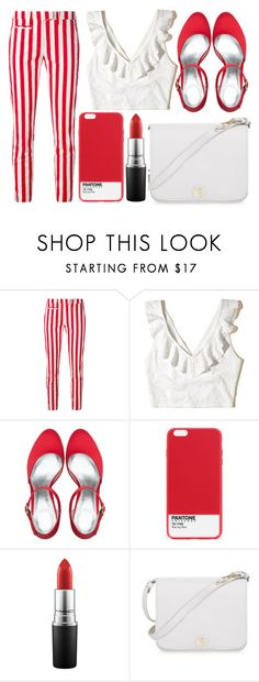 """street style"" by sisaez ❤ liked on Polyvore featuring Dondup, Hollister Co., Case Scenario, MAC Cosmetics and Furla"