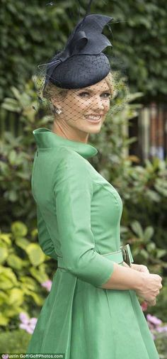 Glamorous revellers donned their most flamboyant hats and elegant dresses as they arrived for the first day of Royal Ascot - the jewel in the crown of the racing season. Ascot Outfits, Fashion Outfits, Charlotte Hawkins, African Hats, Dapper Gentleman, Kentucky Derby Hats, Royal Ascot, Prince Harry And Meghan, Occasion Wear