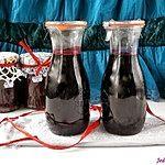 Sok / syrop z aronii + dżem aroniowy