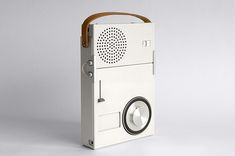 TP1 pocket radio/phono combination, 1959, by Dieter Rams for Braun