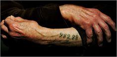 Leon Greenman... a Holocaust survivor.  Photo taken by Ian Waldie