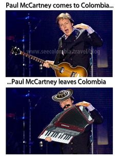 Paul McCartney is coming to Colombia! Largest Countries, Countries Of The World, Paul Mccartney, Colombian Culture, Spanish Speaking Countries, Thirty Two, Travel Blog, Lonely Heart, Living Legends
