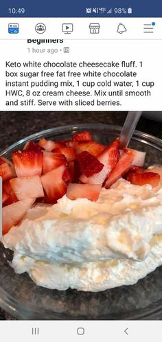 Low Carb Breakfast Recipes – The Keto Diet Recipe Cafe Low Carb Sweets, Healthy Sweets, Low Carb Desserts, Low Carb Recipes, Diet Recipes, Quick Recipes, Jello Recipes, Eating Healthy, Healthy Foods