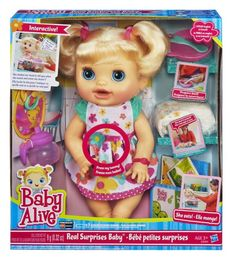 BABY ALIVE REAL SURPRISES BABY Doll – PTPA