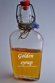 Kawa cynamonem pachnąca: ZŁOTY SYROP czyli DOMOWA WERSJA GOLDEN SYRUP Golden Syrup, Whiskey Bottle, Homemade, Cooking, Smoothie, Kitchen, Home Made, Smoothies, Brewing