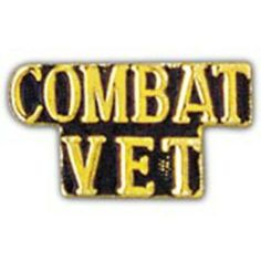 """Combat Vet Pin 1"""" by FindingKing. $8.99. This is a new Combat Vet Pin 1"""""""