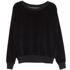 Love cotton velour sweatshirt in New York black Wardrobe Basics, Fashion Killa, Summer Sale, Objects, York, Sweatshirts, Sweaters, Cotton, Shopping