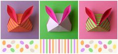 Confession of an Origami Enthusiast -Tutorial: Easter Origami Bunny
