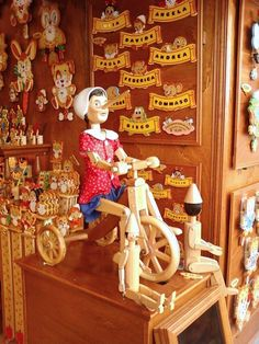Pinocchio in bici
