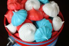 4th of July Meringue Cookies | Tasty Kitchen: A Happy Recipe Community!