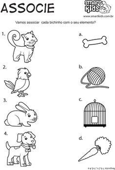 Animal Day Activities 4 de O Nursery Activities, Animal Activities, Preschool Learning Activities, Free Preschool, Printable Preschool Worksheets, Kindergarten Math Worksheets, Worksheets For Kids, Teaching Aids, Pre Writing