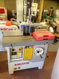 #Sicar SF70 #Spindle #moulder   === Price: £2450.00 + Vat === http://www.woodfordtooling.com