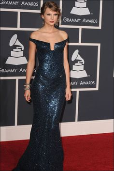 Taylor Swift at the The 52nd Grammy Awards