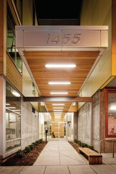 15 Best Building Entrance Canopy Lighting Images Canopy
