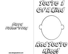 Free Printable Fathers Day Cards For Your Kids To Color And Design For That  Special Day. Lots Of Free Printables For Dad Here.