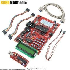 Huge Discount @ Robomart Development board, 8051 Microcontroller development board, 8051 development board with lcd interfacing advanced 8051 study kit? Then you are at the right place. You can easily buy these products online from our robomart online robotics store plus can grab opportunities of heavy discounts with free shipping amenities.