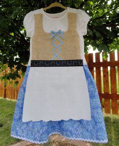 3T Toddler Girl Dirndl by adasaccessories4me on Etsy