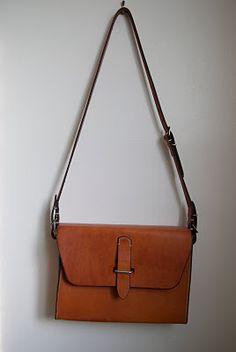 Paul Suhadolnik - hand stitched side bag