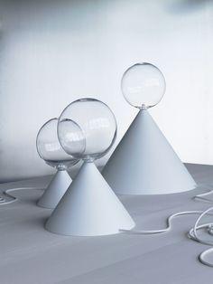 Cone lights par Studio Vit Verre soufflé