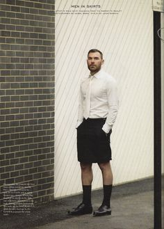 Like the tiles combo. Men in Skirts by Fantastic Man Magazine No. #09