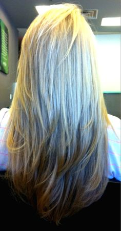 long hair, short layers- getting my hair cut this weekend!