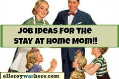 The outside pressures of a stay at home mom... back off society!