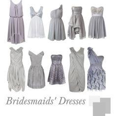 Bridesmaids' Dresses | Silver Shot