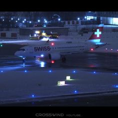 "Gefällt 31 Mal, 1 Kommentare - Bruno Lauper (@brunoboeing787) auf Instagram: ""Snowy Night Action Night Planespotting Zurich Airport • Full Video OUT NOW on YOUTUBE by crosswind…"" Air Lines, Videos, Youtube, Aircraft, Instagram, Aviation, Airplane, Airplanes, Planes"