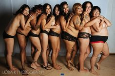 The women's bodies you won't see on a billboard.