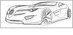 Draw a car in Adobe Photoshop