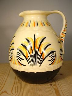 Myott Son & Co Art Deco Jug 1041