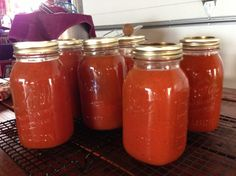 Make and share this V-8 juice for canning recipe from Food.com.