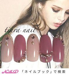 ...|ネイルデザインを探すならネイル数No.1のネイルブック Winter Nails 2019, Winter Nail Art, Japanese Nail Art, Simple Flowers, Stiletto Nails, Pink Nails, Beauty Nails, Nail Care, Interior Design Living Room