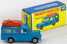 Matchbox Superfast transitional Land Rover Safari