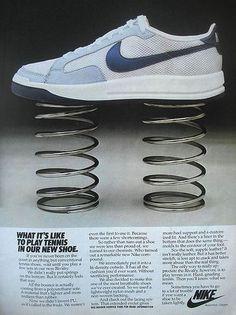 Vintage Nike ad #Nike #Ads