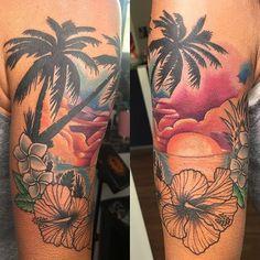 Cute Tattoos, Beautiful Tattoos, Beautiful Artwork, Flower Tattoos, Small Tattoos, Ocean Life Tattoos, Tattoo Ideas, Tattoo Designs, Arm Sleeve Tattoos