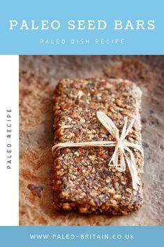 Paleo Seed Bars  #Paleo #food #recipe #Paleoseedbars #keto #diet