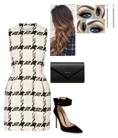 Untitled #154 by fionacoyne100 on Polyvore featuring polyvore, fashion, style, Alexander McQueen, Gianvito Rossi, Balenciaga, Yves Saint Laurent and clothing Formal Outfits, Chic Outfits, Fashion Outfits, Business Attire, Business Fashion, Fashion Ideas, Fashion Inspiration, Work Attire, Ladies Fashion
