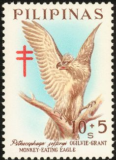 Philippine Eagle stamps - mainly images - gallery format