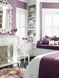 Airy Elegance - pretty in purple! I'm not a fan of purple like this but the design is perfect