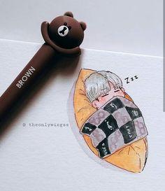 the cutest thing djfksdzvjfd Bts Suga, Fanart Bts, Kpop Drawings, Dibujos Cute, Bts Chibi, Bts Fans, Art Inspo, Art Sketches, Wallpaper