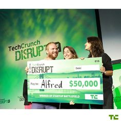 #tbt to the winner of TechCrunch Disrupt SF 2014 Alfred.  Since winning the 2014 Disrupt Cup Alfred has raised $12.5M and launched the first service layer on the shared economy that manages your routine across multiple on-demand and local services. The co