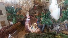 This Australian Nativity Scene has received accolades from all over and is totally awesome. Totally Awesome, Nativity, Scene, Display, Painting, Art, Floor Space, Art Background, Billboard