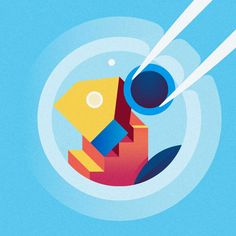 Gorgeous Editorial Illustrations by Ray Oranges   Inspiration Grid   Design Inspiration