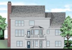 Clarkston - Home Plans and House Plans by Frank Betz Associates
