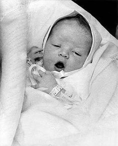 Baby Lisa  Marie going home from the hospital.