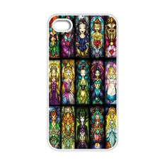 All Princess disney stained glass iPhone 4[S] Case