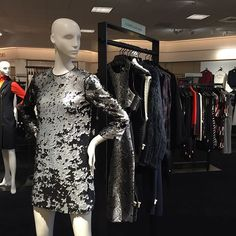 Time to shine✨ @elizandjames @pixxyapp #sequins #minidress #elizabethandjames #Pixxy