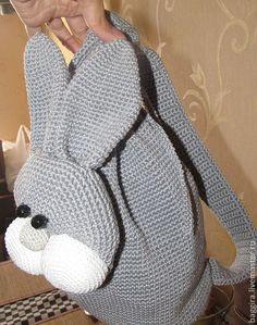 """Купить Детский рюкзак """"Зайка"""" - рюкзак, рюкзачок, детский рюкзак, зайка, заяц, подарок ребенку"""